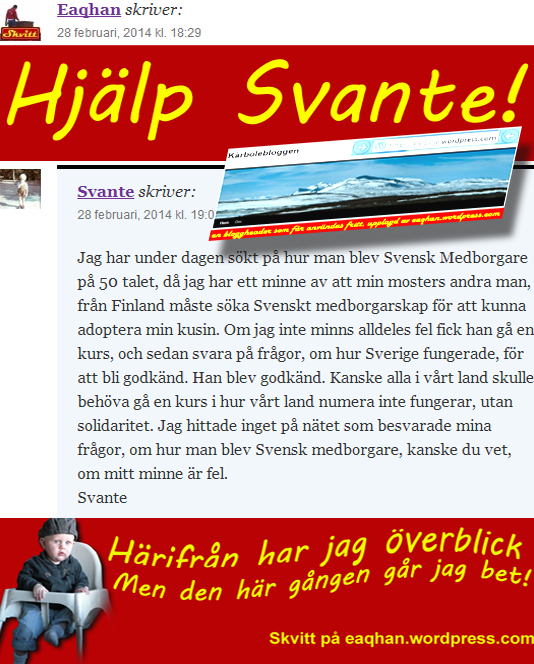 Hjälp Svante