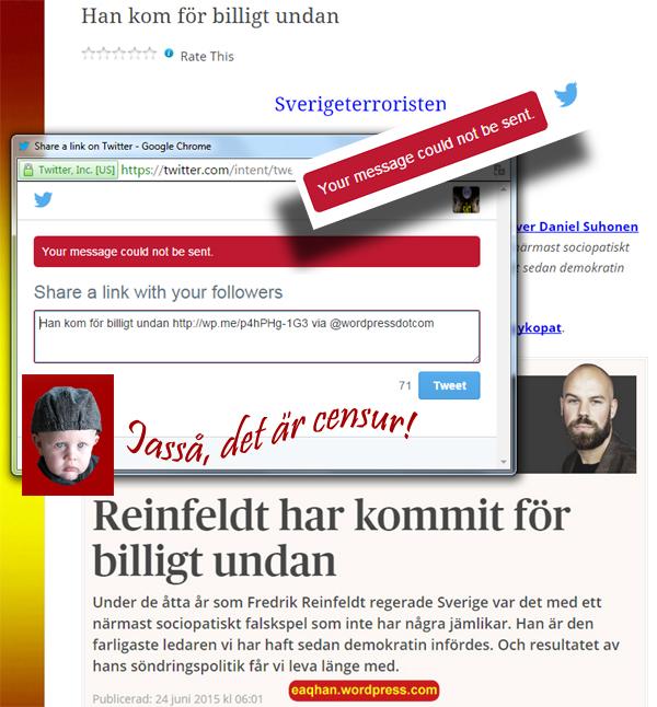 Twittercensur